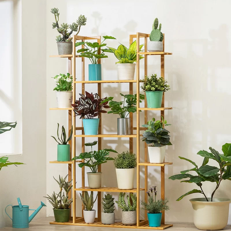 Hanging Plants Indoor Discover Bamboo 10 Tier Plant Stand Kerrogee Bamboo 10 Tier Plant Stand Reviews Way Hanging Plants Indoor Diy Plant Stand Plant Stand