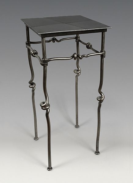 Occasional table rob caperell metal side table artful for Functional side table