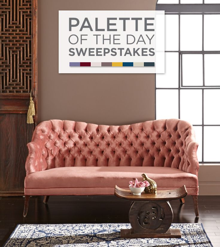 Enter The Valspar Palette Of The Day Sweepstakes On