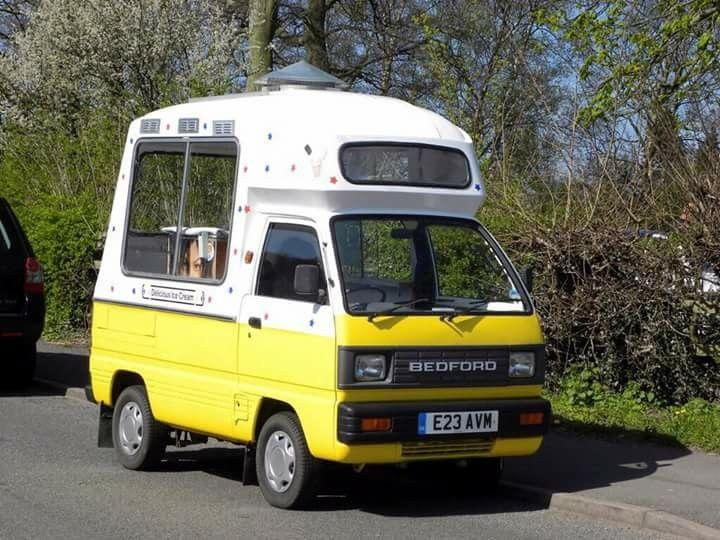 Bedford Rascal Ice Cream Van | ice cream trucks