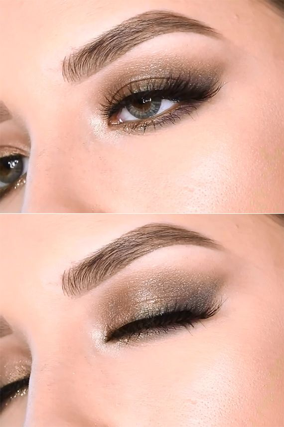Antique Olive Smoky Eye #Makeup -> -> Check out the Step by Step Tutorial