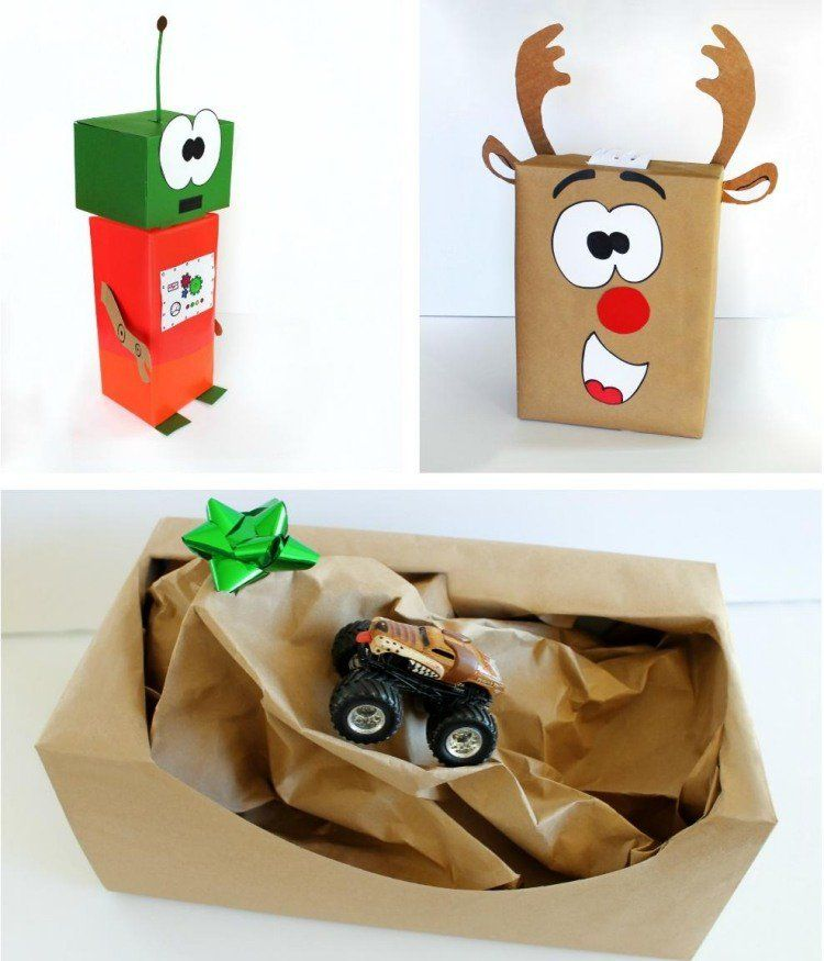 emballage cadeau original 40 id es avec des instructions fabriquer paquet kdo pinterest. Black Bedroom Furniture Sets. Home Design Ideas