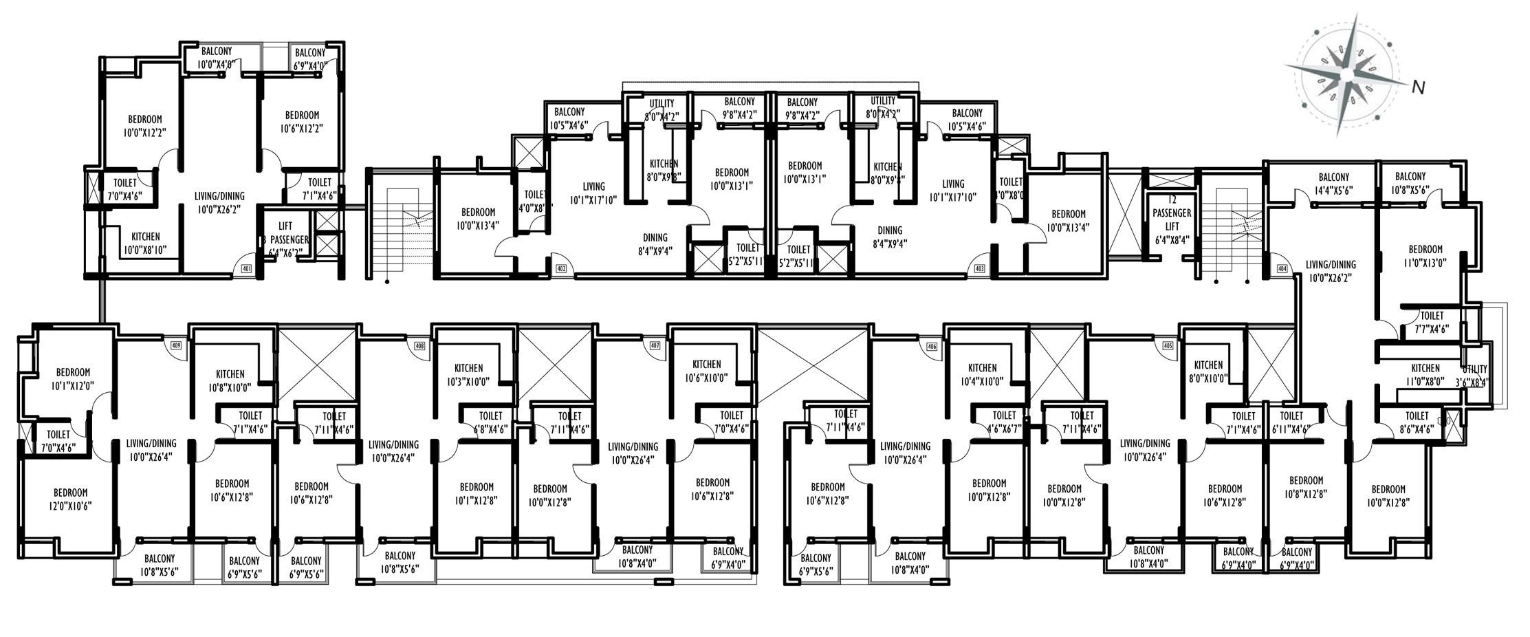 Willows Residences Near Cambridge International School Neermarga Mangalore Commercial Building Plans Floor Plans School Floor Plan