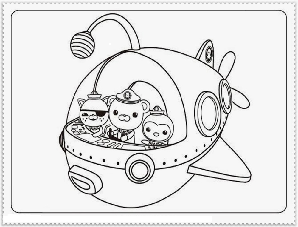 Octonauts Coloring Pages For Learning Educative Printable Coloring Pages Cartoon Coloring Pages Printable Coloring Book