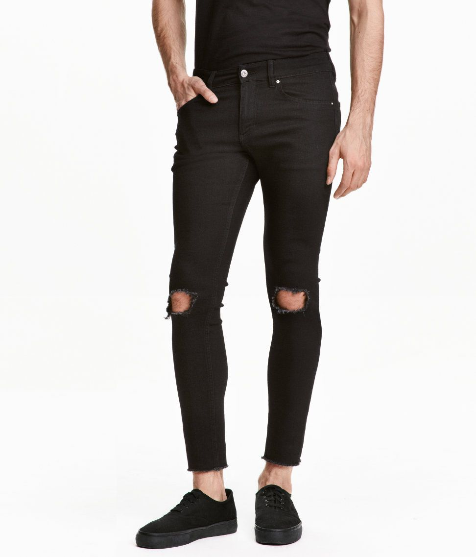 8e0dc367c74 Super Skinny Ankle Jeans | H&M Divided Guys | H&M MAN DIVIDED ...