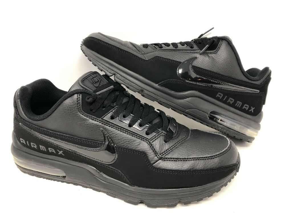 black gray NIKE air max ltd shoes men running training mode :