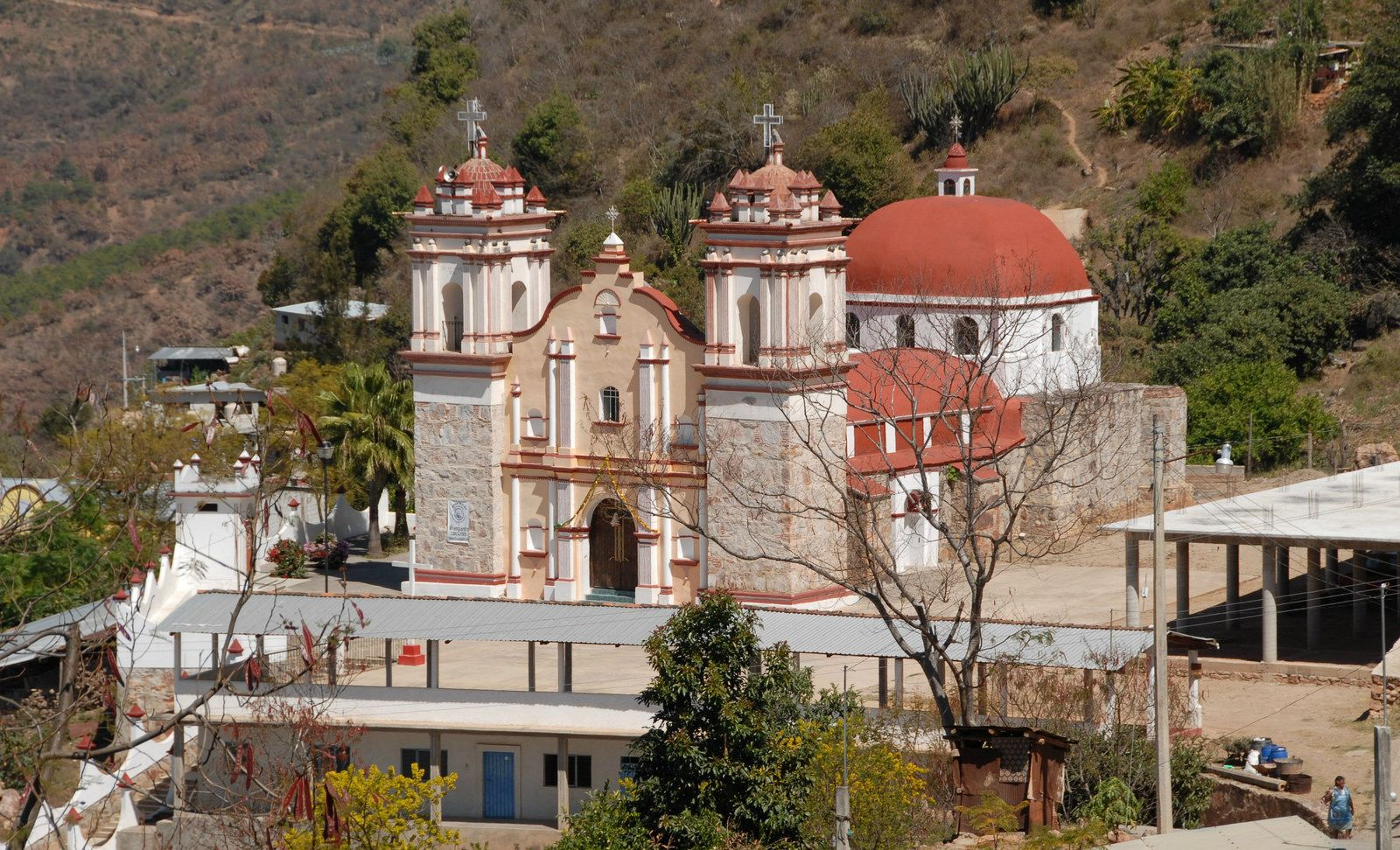 Church oaxaca mexico iglesia by ilhuicamina lugares mágicos