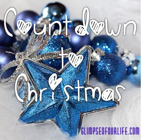 a glimpse of our life: Countdown to Christmas Giveaway