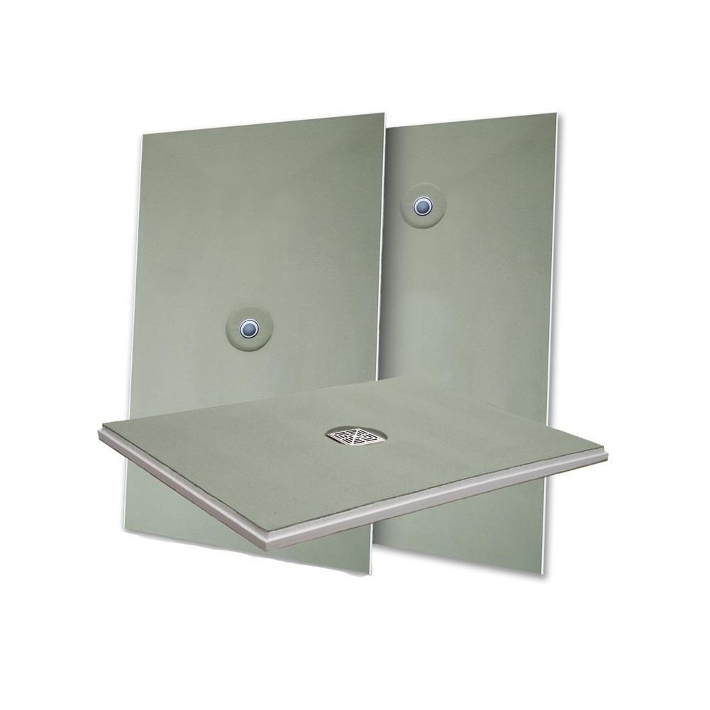 Laticrete Hydro Ban Pre Sloped Shower Pan Shower Pan Curbless Shower Pan Shower Pans Bases