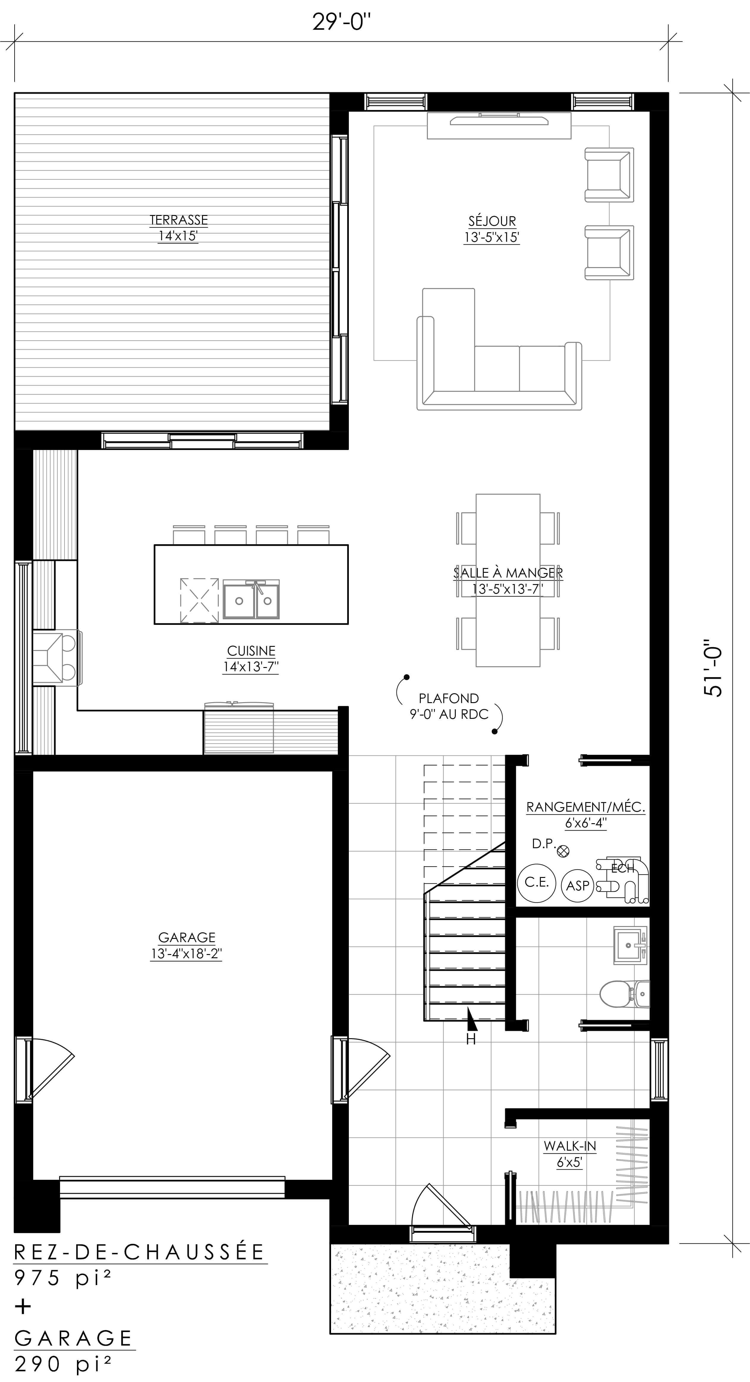 Plan De Maison Moderne plan de maison moderne Ë_101 in 2019 | modern house design