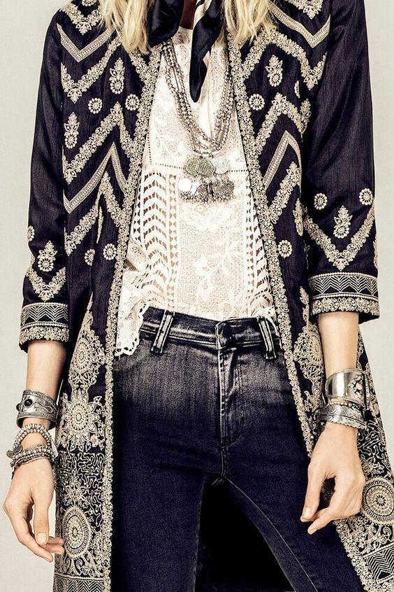 Tallulah Likes Printed Colour Long Sleeve Coat