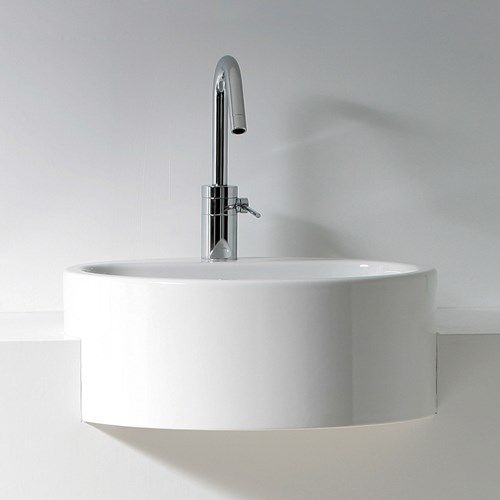 semi recessed round basin uk Google Search sink