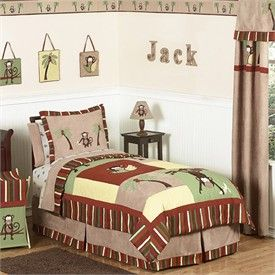 Monkey Bedding Collection by Sweet Jojo Designs