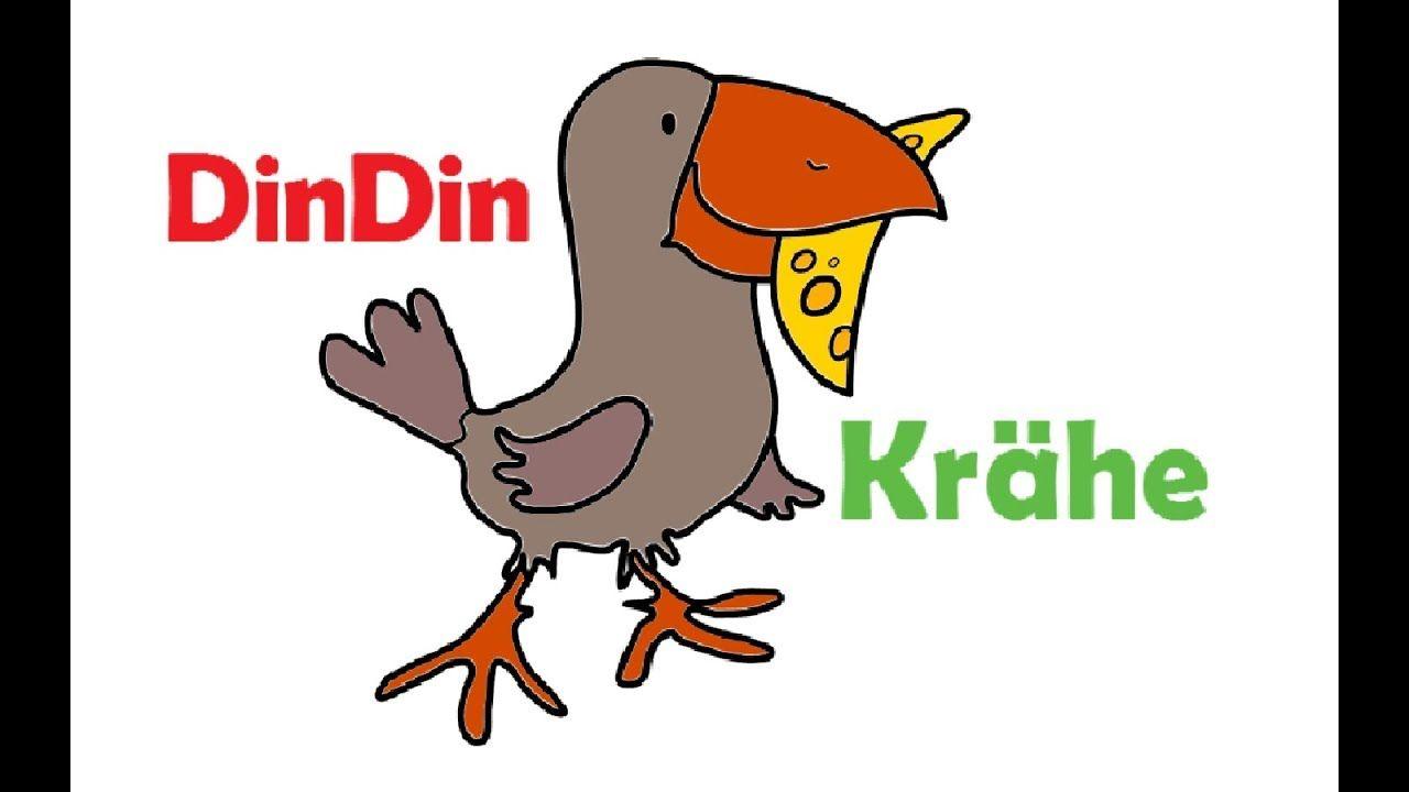 wie zeichnet man krähe für kinder  malvorlagen für kinder