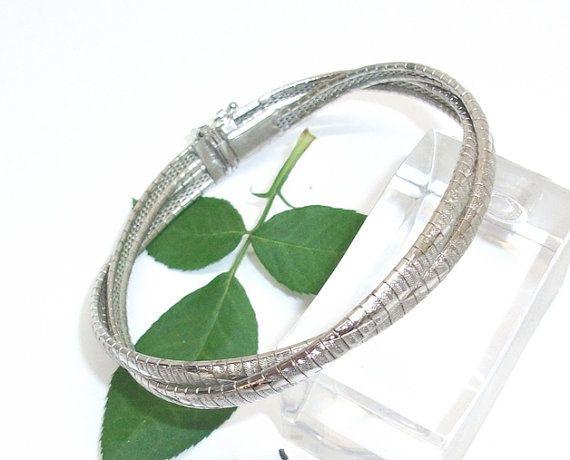 925er Silberarmband geflochten Damenarmband SA133 von Schmuckbaron