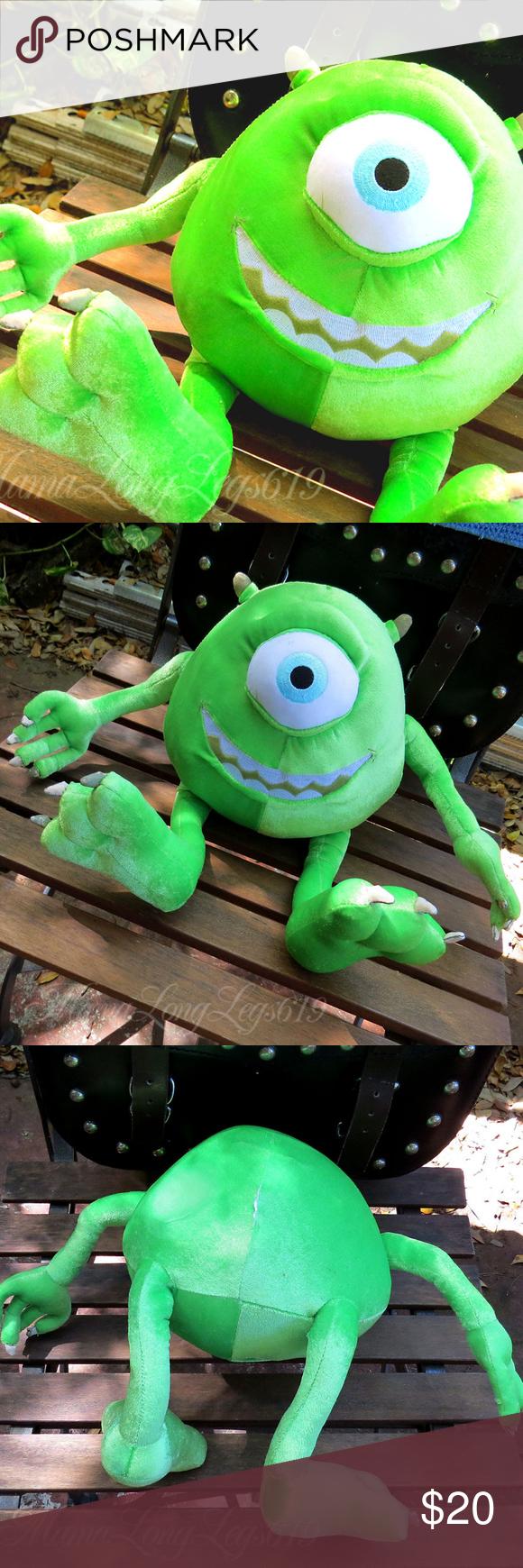Disney Pixar Monsters Inc Mike Wazowski Plush Doll