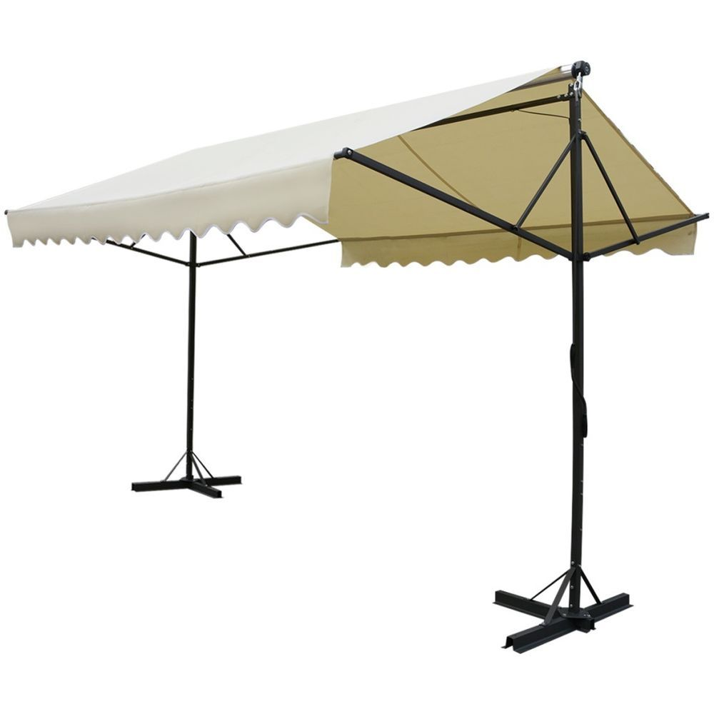 Outdoor Standing Manual Awning Garden Party Event Tent Shelter Canopy Gazebo  sc 1 st  Pinterest & Outdoor Standing Manual Awning Garden Party Event Tent Shelter ...