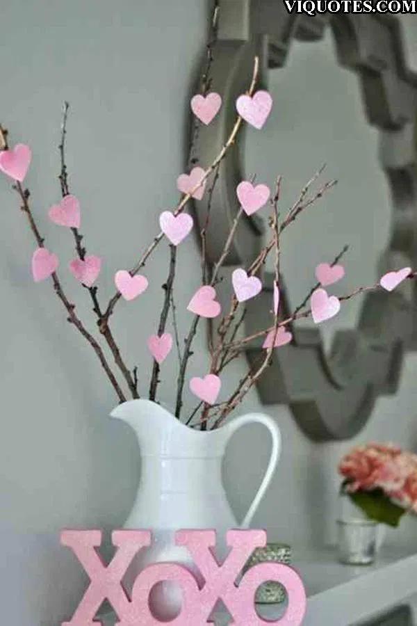 51 Valentinstagdekoration Ideen - Valentinstagdekoration - Valentinstagdekoration