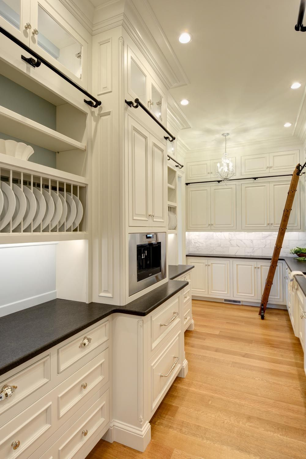 Monticello Inspired Home In Somers Ct Built By Laplante Construction The Ten Foot High Ceilings Kitchen Cabinet Styles Custom Kitchen Cabinets Kitchen Design