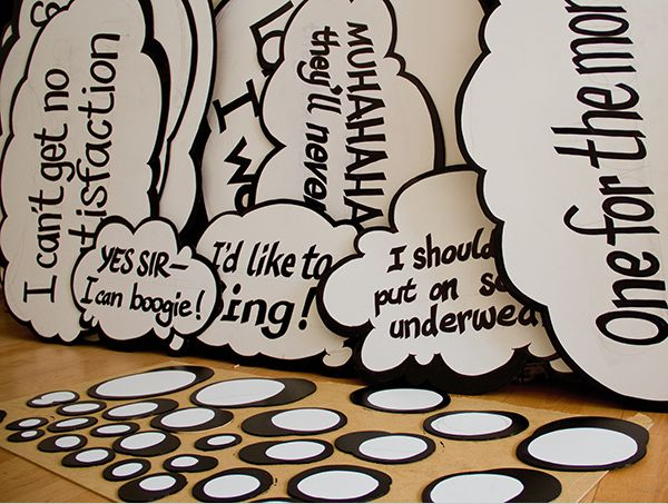 Very Clever Interactive Street Art Thought Bubbles Bubble Art Thoughts