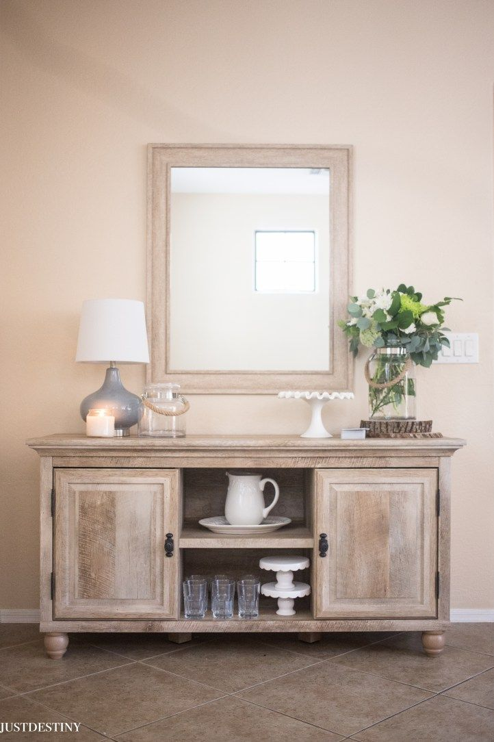 Love this buffet from better homes and garden walmart perfect way to update our dining room the neutral color is so pretty