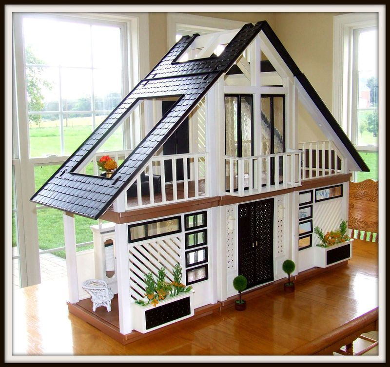 A Frame Dollhouse The One And Only A Frame Dollhouse Website For Devoted Fans Barbie Dream House Barbie House Barbie Doll House