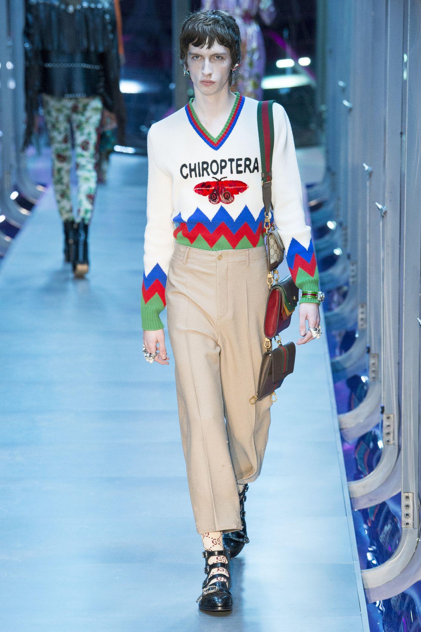 bb42d86128866  DéfiléGucci  fashion  Koshchenets Défilé Gucci prêt-à-porter femme automne-hiver  2017-2018 31