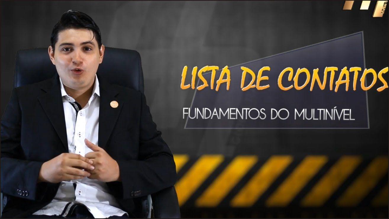 #1  ''LISTA DE CONTATOS'' - Onde você está errando!?