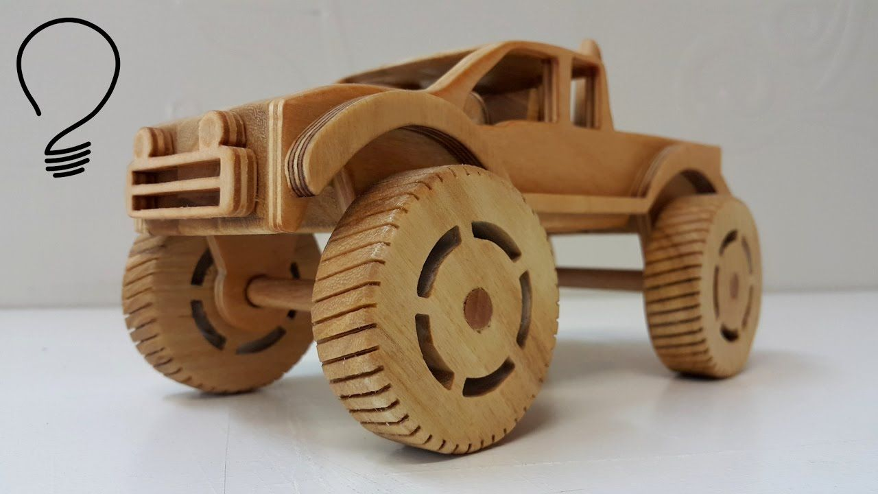 Toys For Trucks Everett : Making a wooden monster truck rc wd tf inspirations
