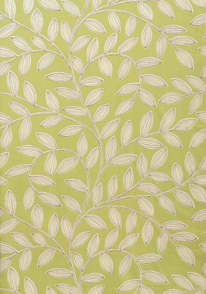 Havendale #wallpaper in #green from the Jubilee collection. #Thibaut   Go Green!   Designer ...