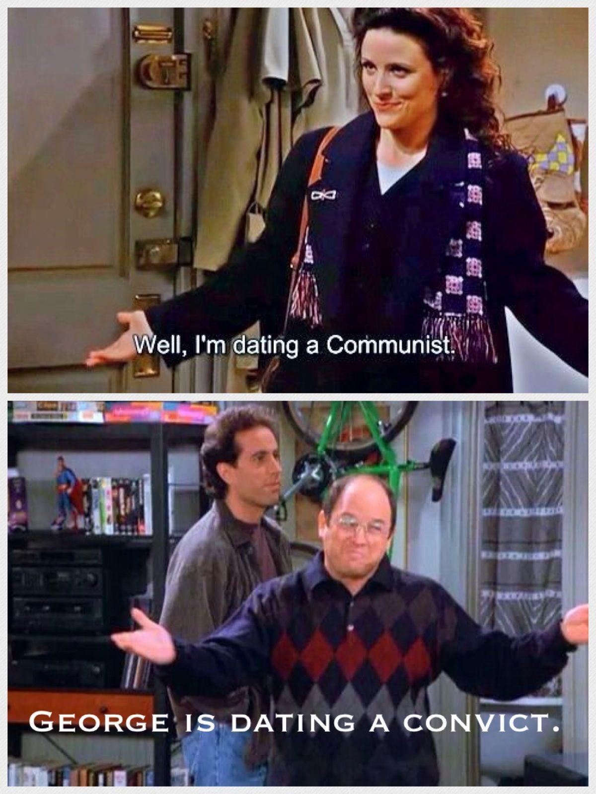 Seinfeld elaine dating