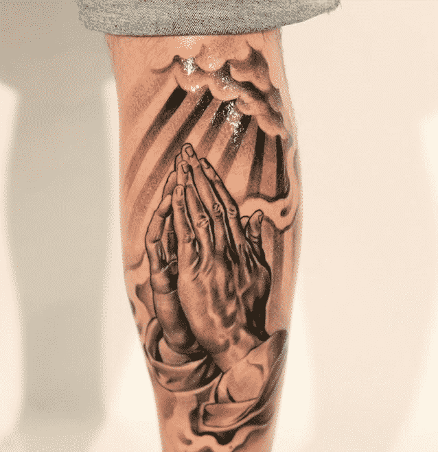 Praying Hands Tattoos For Men Hand Tattoos For Guys Tattoos For Guys Cool Tattoos For Guys