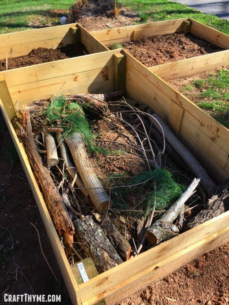 How to Build a Hugelkultur Raised Bed and Why You Should