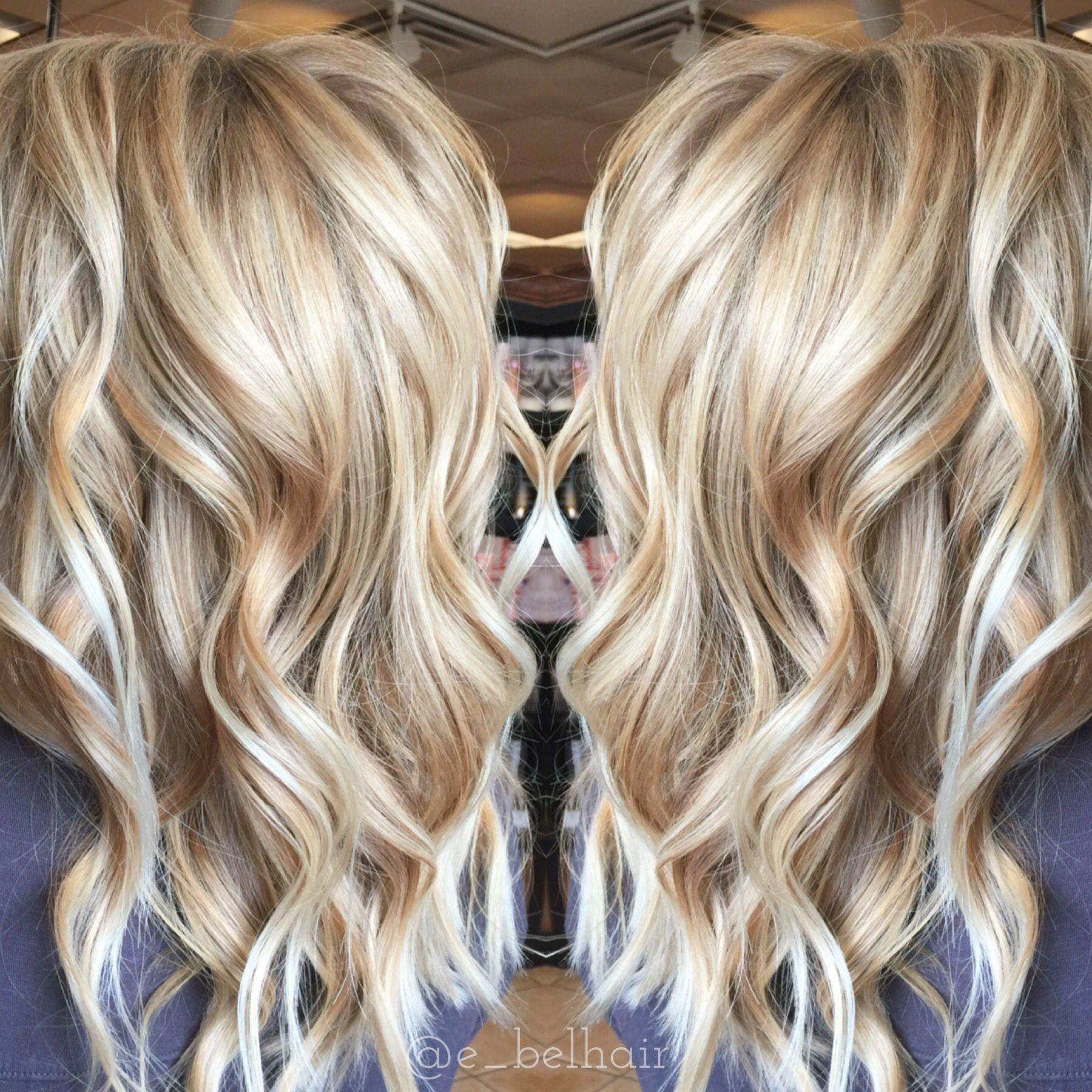 Vanilla latte blonde u hair pinteu