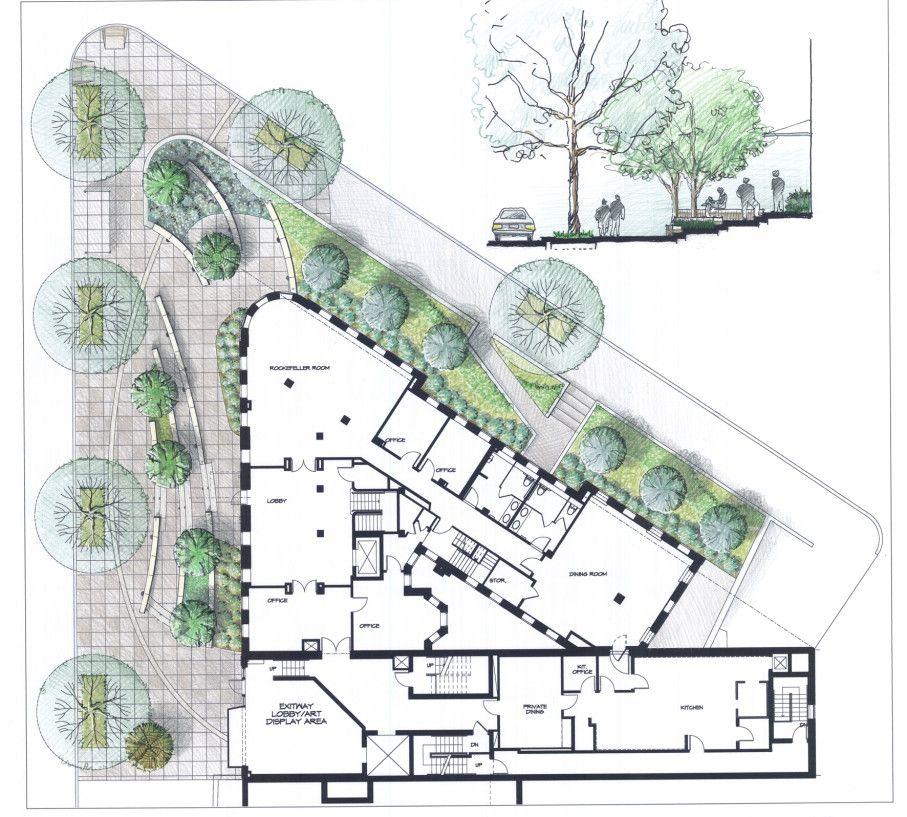 Pocket Park Design Stanford University In Washington Landscape