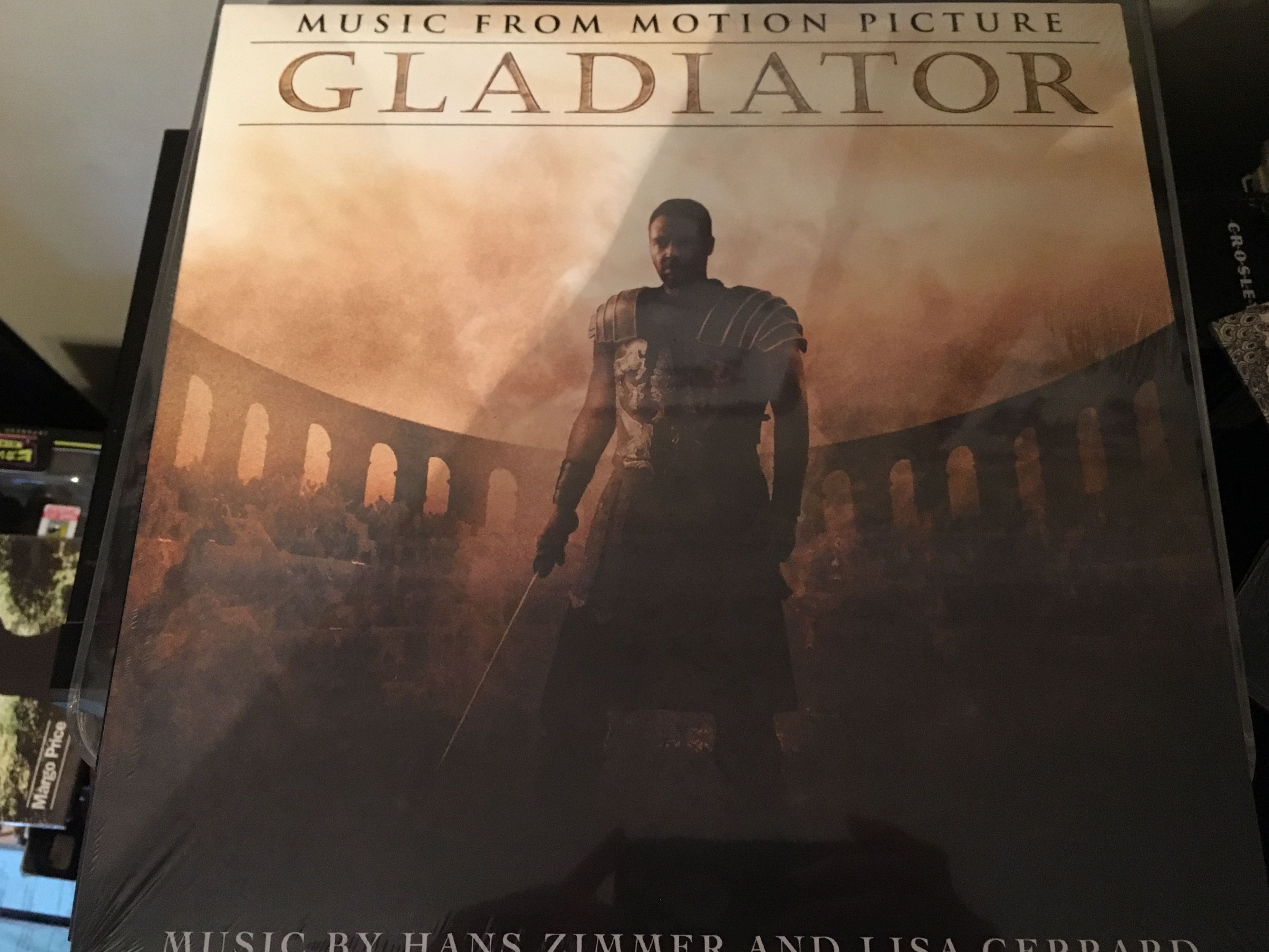 Gladiator Soundtrack Vinyl Record Collection Motion Picture Vinyl Records