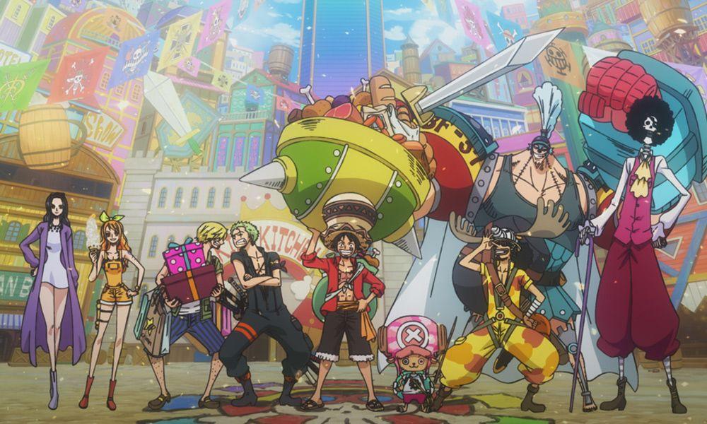 Titre One Piece Stampede Date De Sortie 2019 08 09 Duree 101