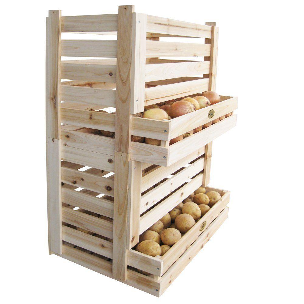 Caisse De Pomme Vide habau 615 caisse pour pommes de terre et fruits: amazon.fr