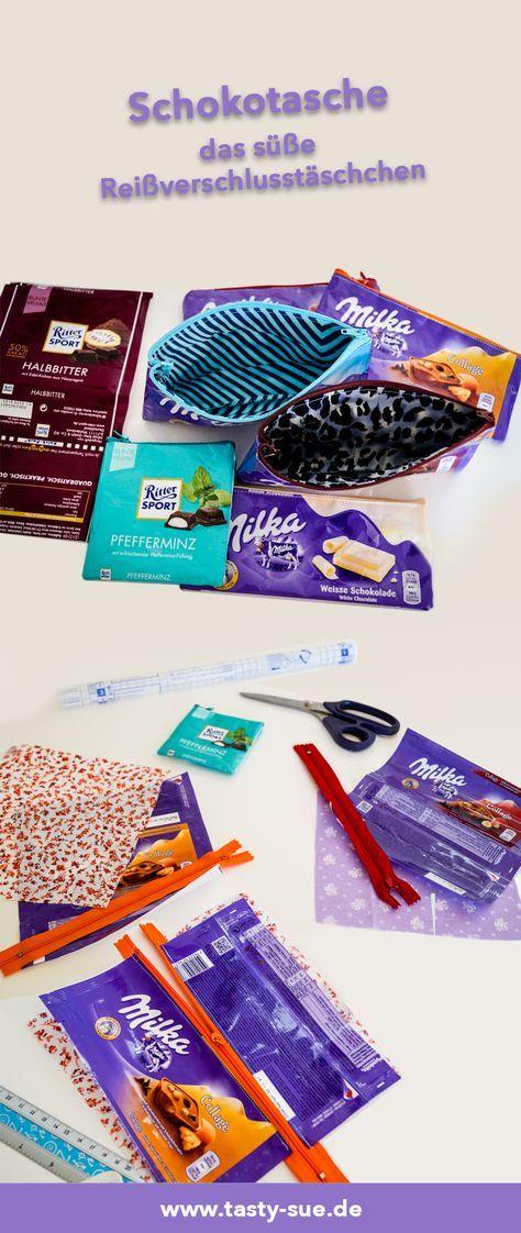 Photo of Süße Taschen aus Schokoladenpapier – Tasty-Sue