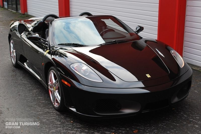 Head Turning Black Ferrari F430 Spider Fancy Seeing More It Up