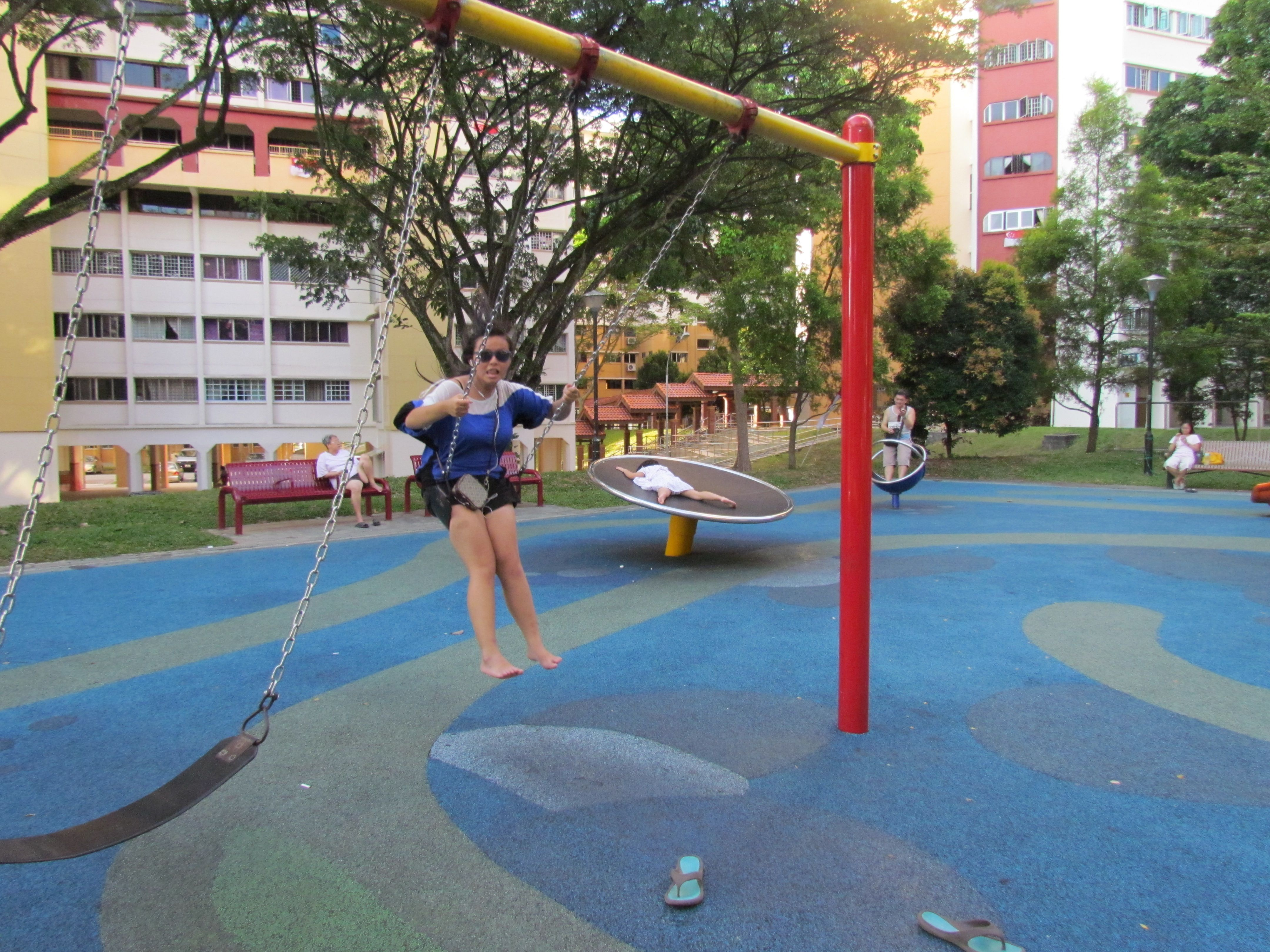 Me D Singapore My Travel Basketball Court