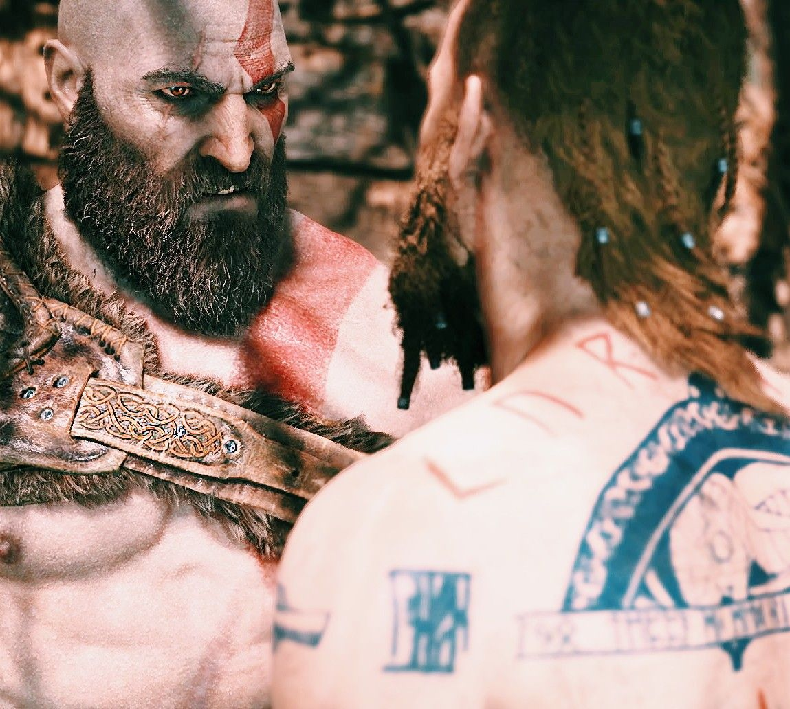 Kratos And Baldur God Of War God Of War Pinterest God Of War