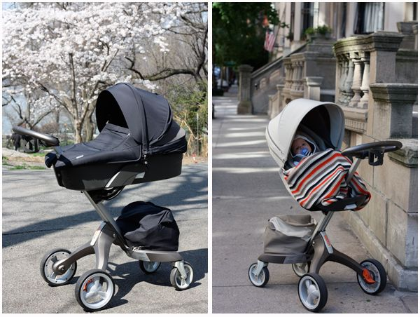 Stokke Xplory grows with your child from newborn (Carry Cot ...