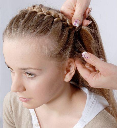 frisuren flechten anleitung | haare flechten anleitung