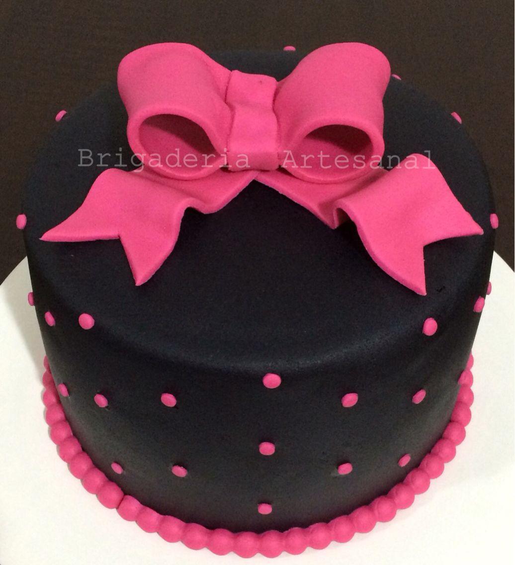 Bolo de Menina Festa de Menina Bolo Rosa Pink