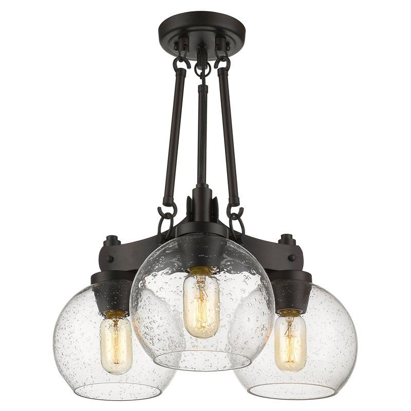 Golden Lighting Galveston 4855-SF Semi Flush Mount Light - 4855-SF RBZ-  sc 1 st  Pinterest & Golden Lighting Galveston 4855-SF Semi Flush Mount Light - 4855-SF ...