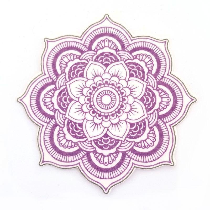 No Cutout Silly Patch Purple Mandala Patches Mandala Purple