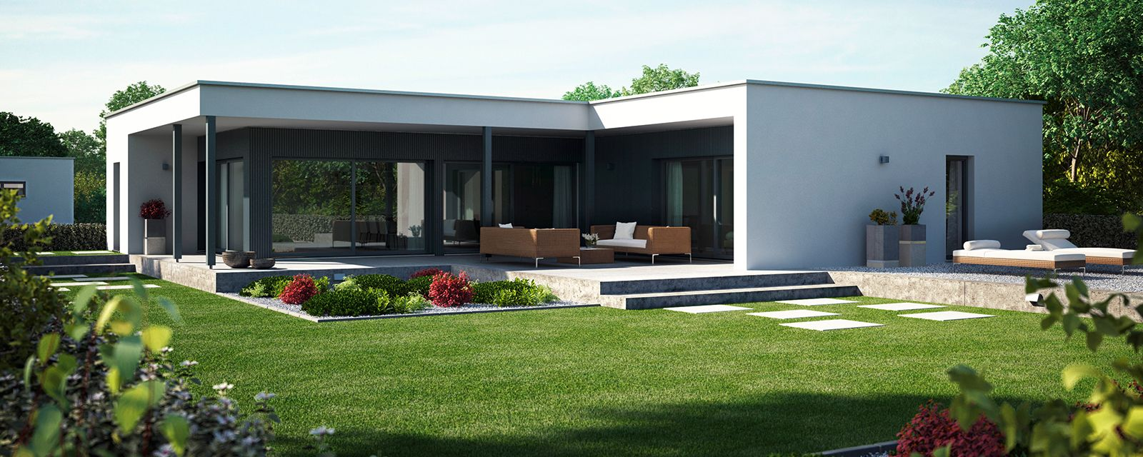 Flachdachbungalow Modern bungalow verbouwen interieur zoeken modern bungalow