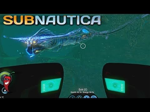 GHOST LEVIATHAN UPDATE NOW WITH ULTRA HEALING GUNK - Subnautica