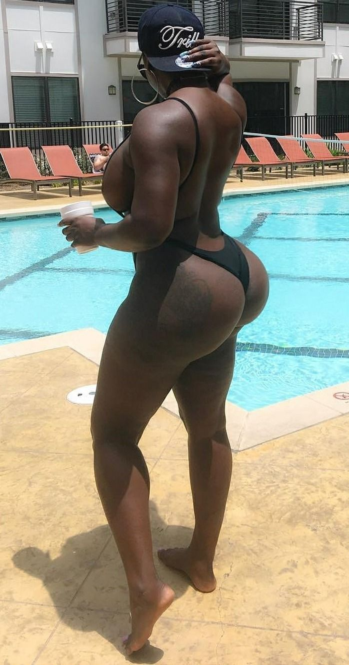 Big thick black ass